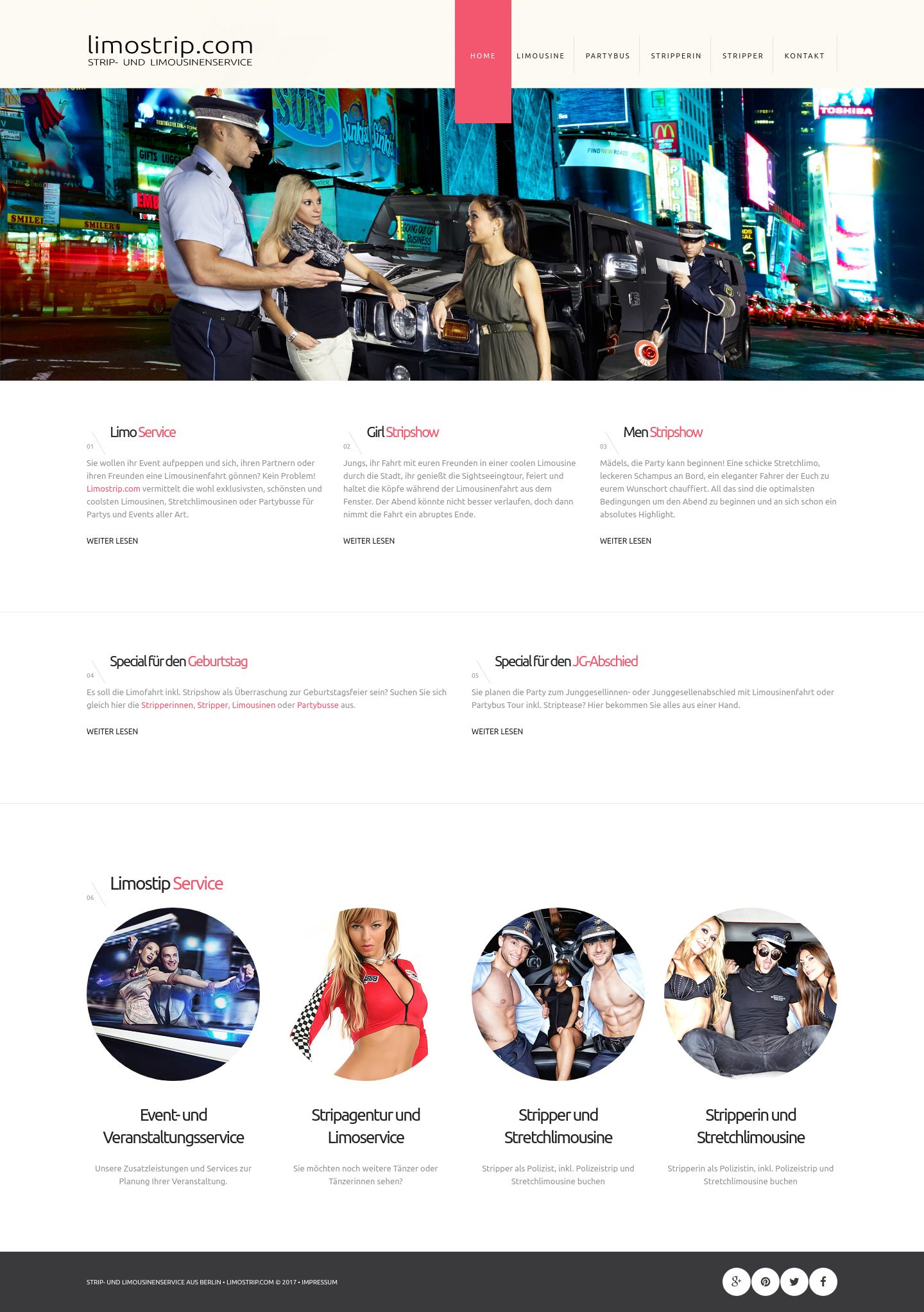 Limostrip » Website Erstellung by J.R. Foto, Web & Design