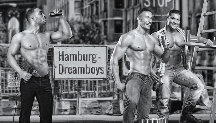 Hamburg Dreamboys » Website Erstellung by J.R. Foto, Web & Design